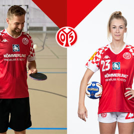 KÖMMERLING becomes the official shirt sponsor of the Mainz 05 handball and table tennis teams